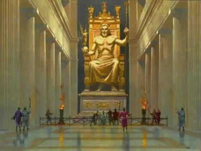 Statuia lui Zeus din Olimpia
