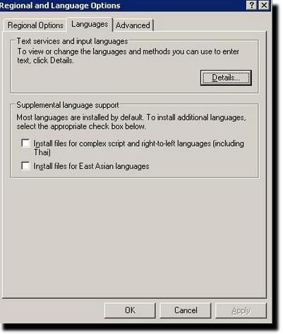 Folosirea diacriticelor in XP
