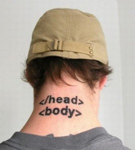 tatuaj coder programator