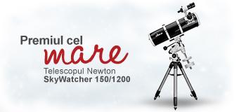 Premiul cel mare - Telescopt Newton concurs imobiliare.ro 10 ani