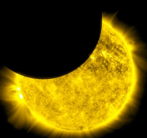 eclipsa partiala de soare 4 ianuaire 2011
